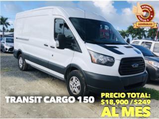 FORD TRANSIT 250 HR CARGO VAN 2018 , Ford Puerto Rico