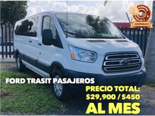 Ford Puerto Rico Ford, Transit Passenger Van 2014