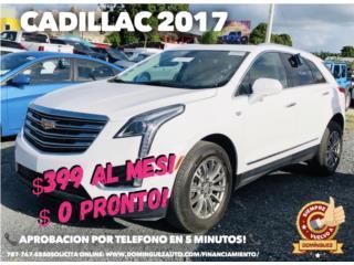Cadillac Puerto Rico Cadillac, SRX 2017