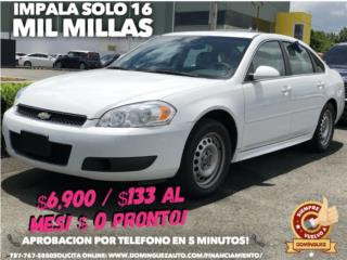 Chevrolet Puerto Rico Chevrolet, Impala 2012