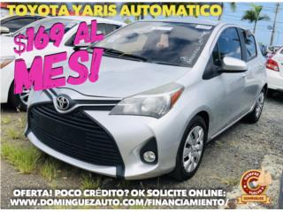 Toyota Puerto Rico Toyota, Yaris 2015