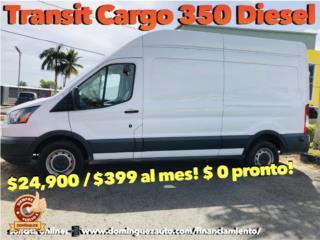Ford Puerto Rico Ford, Transit Cargo Van 2016