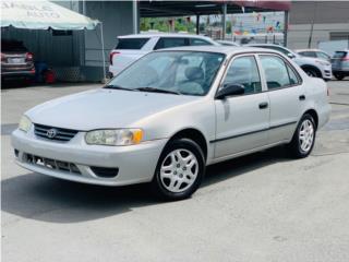 Toyota Puerto Rico Toyota, Corolla 2002