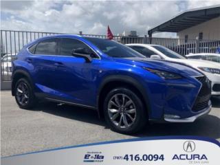 LEXUS *NX 200t* F-SPORT  !! IMPORTADA !! , Lexus Puerto Rico