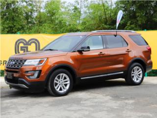 Ford, Explorer 2017, F-500 series Puerto Rico