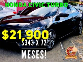 HONDA ACCORD 2018 TOURING! TOPE DE LINEA! , Honda Puerto Rico