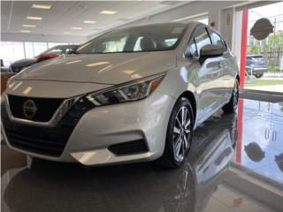 Nissan, Versa 2020, Chevrolet Puerto Rico