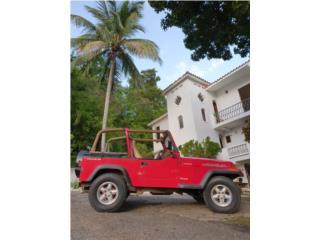 Jeep Puerto Rico Jeep, Wrangler 1995