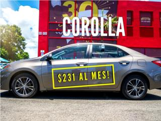 Corolla LE 2017/ solo 13k millas , Toyota Puerto Rico