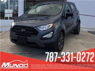 Ford, EcoSport 2019, Edge Puerto Rico