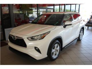 Toyota Highlander PLATINUM 2020 , Toyota Puerto Rico