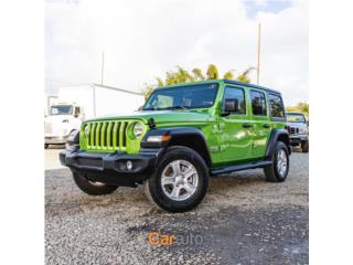 Espectacular Jeep Wrangler 4X4 2019 , Jeep Puerto Rico