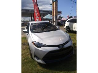 Toyota, Corolla 2017, Sienna Puerto Rico