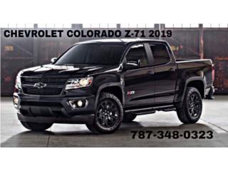 Chevrolet, Colorado 2019, Traverse Puerto Rico