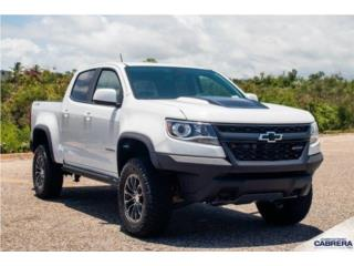 Chevrolet, Colorado 2019, Traverse Puerto Rico