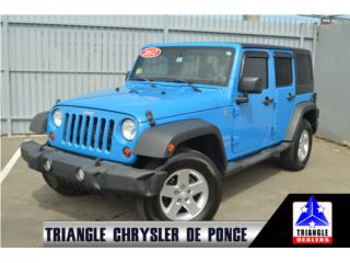 2012 Jeep Wrangler Unlimited Sport, T2265442 , Jeep Puerto Rico