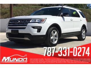 Ford, Explorer 2018, Edge Puerto Rico