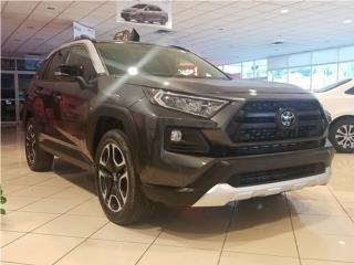2020 TOYOTA RAV4 ADVENTURE | BLACK/TOP WHITE , Toyota Puerto Rico