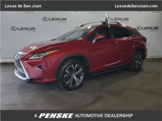 Lexus, Lexus RX 2017  Puerto Rico