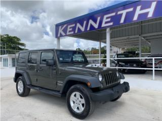 2019 JEEP WRANGLER UNLIMITED ( POCO MILLAGE ) , Jeep Puerto Rico