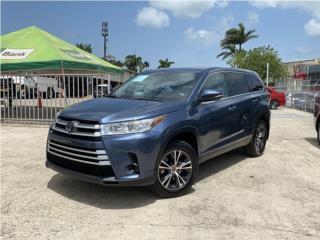 Toyota, Highlander 2019, Fiat Puerto Rico