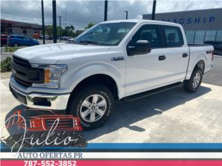 Ford Ranger 2020 XLT cab1 1/2 blanca , Ford Puerto Rico