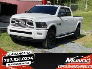 RAM 2500 LARAMIE LONG HORN 2014 ¡4X4! , RAM Puerto Rico