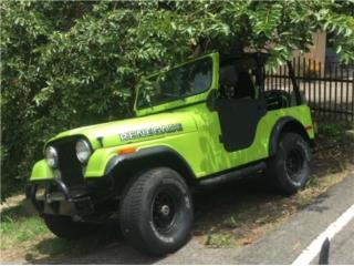 Jeep Puerto Rico Jeep, Jeep CJ 1977