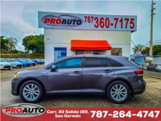 Toyota Venza 2014 importada  , Toyota Puerto Rico