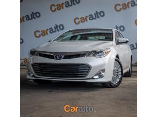 Toyota Puerto Rico Toyota, Avalon 2015