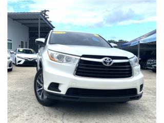 Toyota Puerto Rico Toyota, Highlander 2014