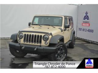 Jeep, Wrangler 2016  Puerto Rico