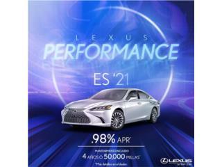 Lexus Puerto Rico Lexus, Lexus ES 2021