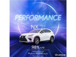 Lexus, Lexus NX 2021, Lexus NX Puerto Rico