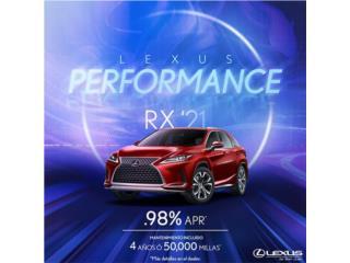 Lexus Puerto Rico Lexus, Lexus RX 2021