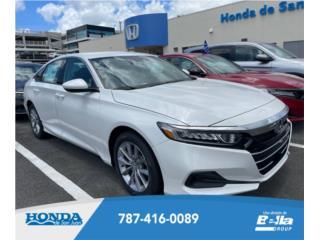 Honda, Accord 2021, Hyundai Puerto Rico