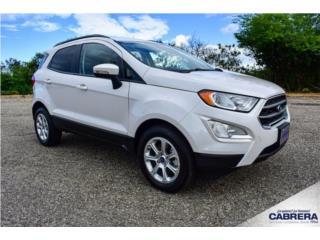 Ford, EcoSport 2020, Ranger Puerto Rico