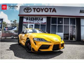Toyota, Supra 2021, Equipo Construccion Puerto Rico