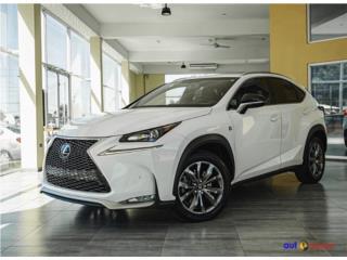 LEXUS NX 2015 F.SPORT  , Lexus Puerto Rico