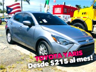 TOYOTA YARIS 2016 , Toyota Puerto Rico
