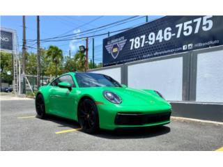 Python Green Porsche 911 Carrera   2021 , Porsche Puerto Rico