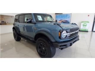 Ford Bronco 2021 OuterBand velocity blue , Ford Puerto Rico