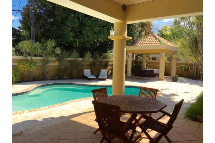 Casa con piscina cerca de las playas de aguadilla for Casas con piscina para alquilar en puerto rico